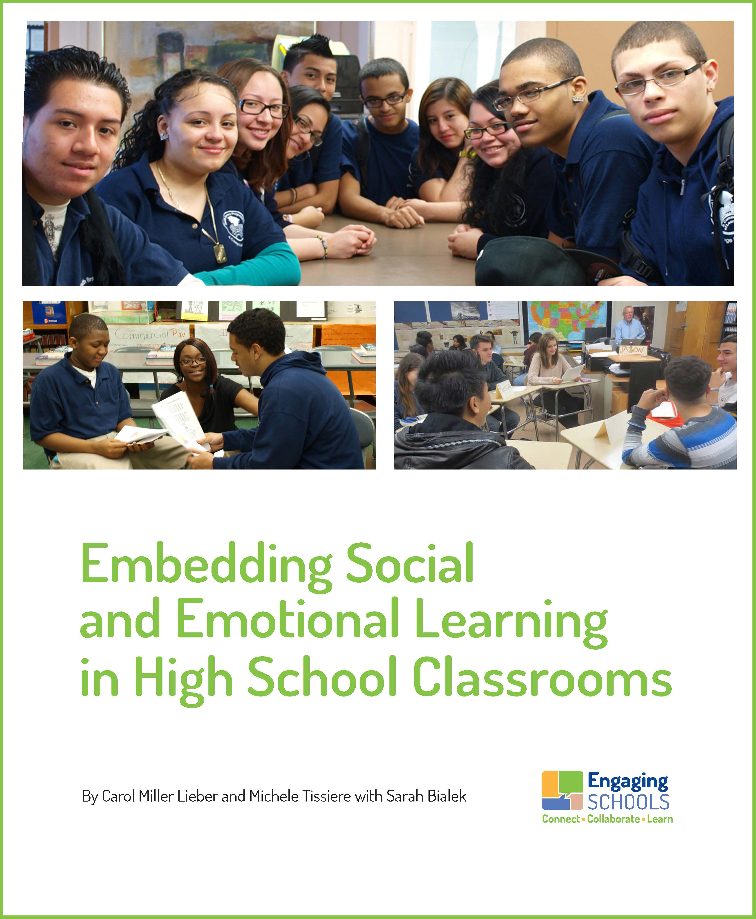 How To Implement Social And Emotional >> Engaging Schools Engaging Schools Publishes White Paper On